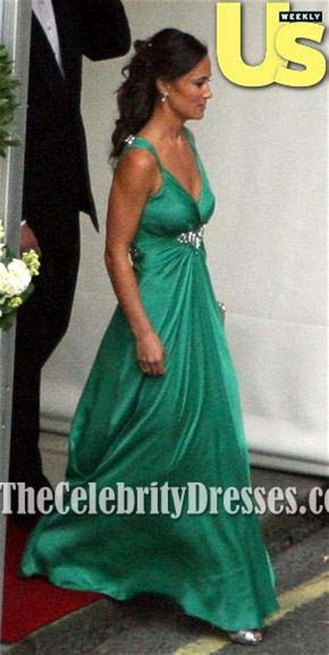 Pippa Middleton's Emerald Green Bridesmaid Dress at the