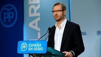 Javier Maroto, vicesecretari de Política Social del PP