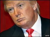 Donald Trump a mad wig