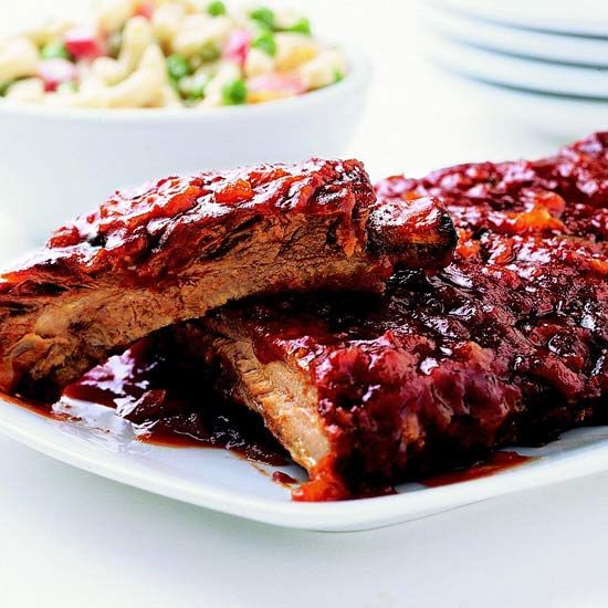 Serve these savory-sweet Honey 'n' Orange Ribs at your next barbecue! More of our best grilled pork recipes: http://www.bhg.com/recipes/pork/grilled-pork/our-best-grilled-pork-recipes/?socsrc=bhgpin053113orangeribs=22
