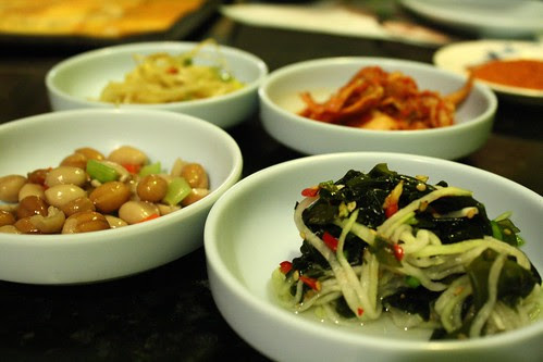 Banchan at Feng Mao 1/10/11
