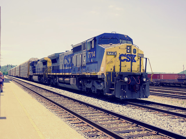 trains at the Cincinnati Museum Center
