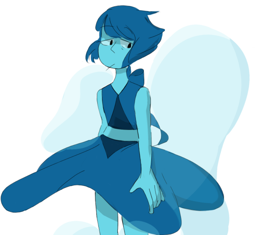never got around to drawing lapis before now