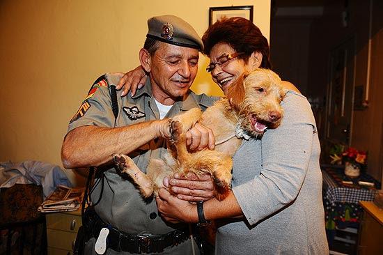 Cachorro Pinpoo é encontrado próximo a aeroporto em Porto Alegre, após ficar 14 dias desaparecido