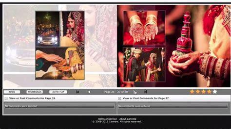 Canvera Wedding Album Sample   YouTube