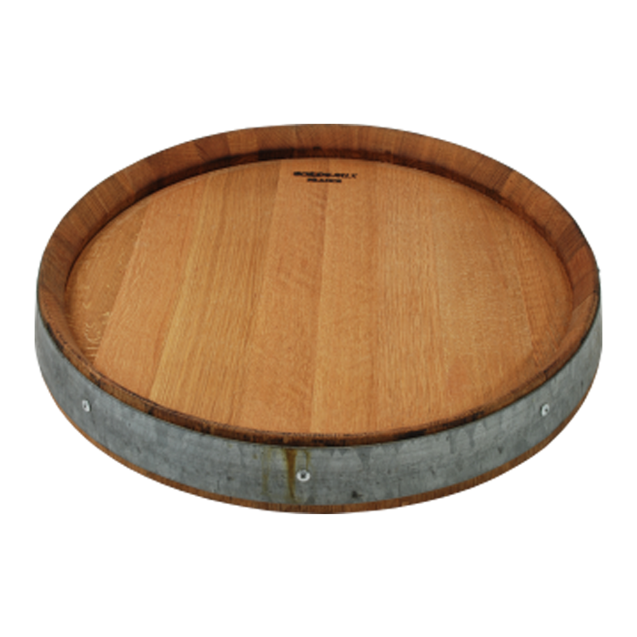 Taylor Family Vineyards Lazy Susan Wine Barrel Top