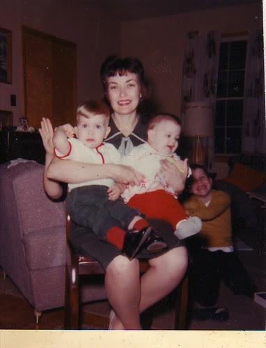 Mom, Ken, Linda (and Gary) 1965