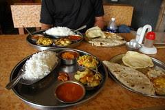 Hampi en Inde Thali