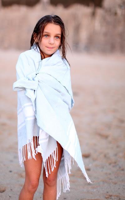 Sofia - o estilo está nas coisas simples, tão simples quanto uma toalha de praia