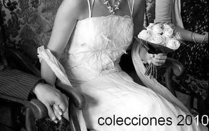 Colecciones de vestidos de novia 2010