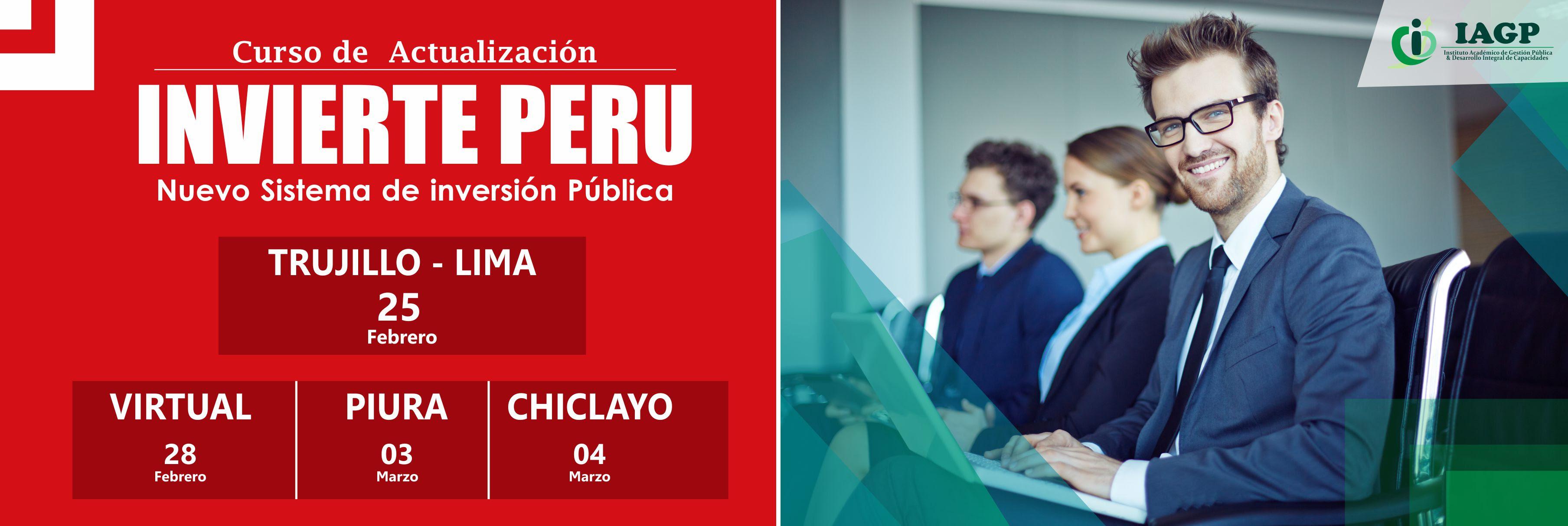 Curso Invierte Perú