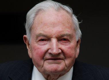 Bilionário David Rockefeller morre aos 101 anos enquanto dormia