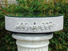 Rhinestone Cake Stands Rentals   ?Designs with Your