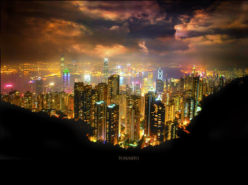 The World's Most Stunning Skyline: Hong Kong Island, Hong Kong, China. por Tomasito.! (Sorry, Soo Busy // No Need to Comment)