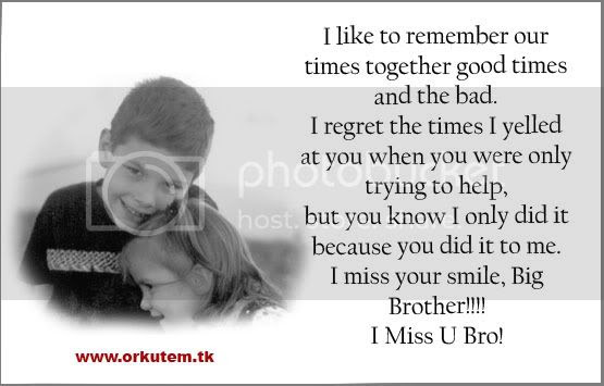 Save Me Love You Brother Quotes