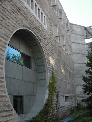 Facade of Ives Hall, Cornell University