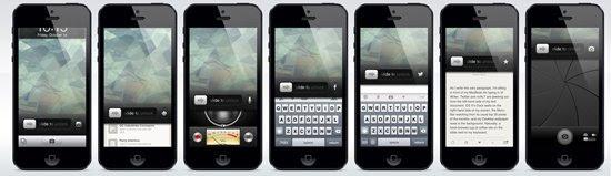 你應該知道的iOS 7鎖屏概念設計