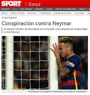 Neymar Sport (Foto: Reprodução)
