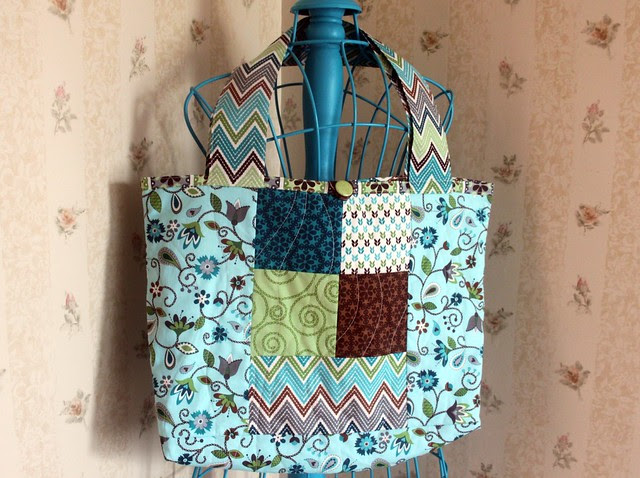 Stitch Quilted Bag