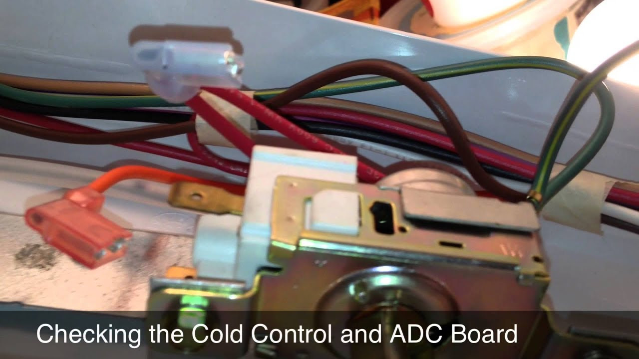 Refrigerator Repair  Replacing The Evaporator Fan Motor