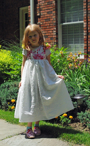 Kate's new dress