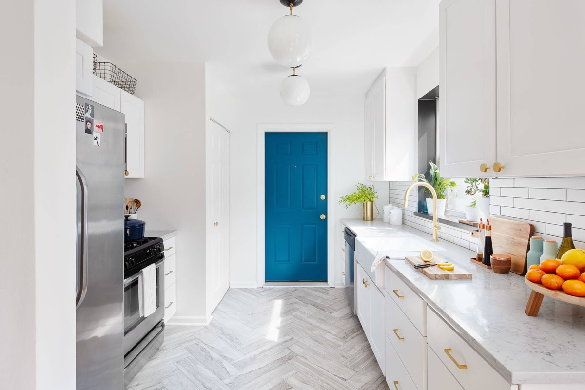 20 Gorgeous Galley Kitchens And Tips You Can Use From Them