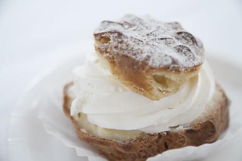 Cream Puff, Cafe Madeleine, San Francisco