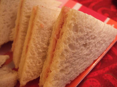 sandwiches jambon-moutarde