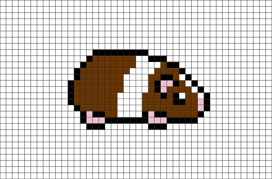 Bythatiblogspotcom Pixel Art Animal
