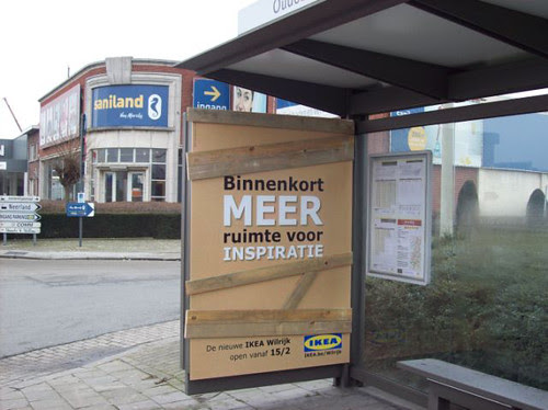 Teaser campaign for IKEA