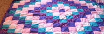 Quilt Pattern Called Trip Around The World