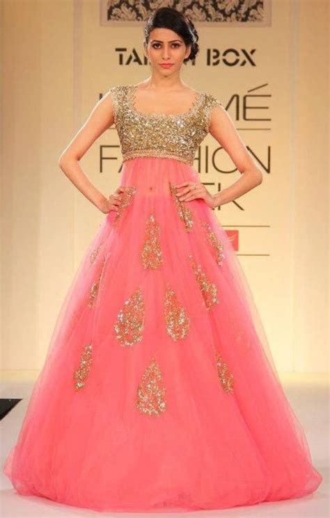 25 best indo western gown images on Pinterest   Indian