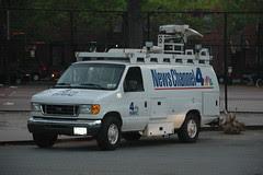 NewsChannel4 Van