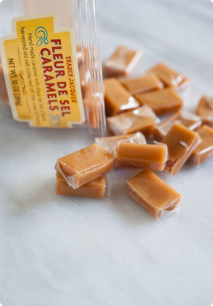 trader joe's fleur de sel caramels review