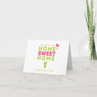 Home Sweet Home {new home} Note Card
