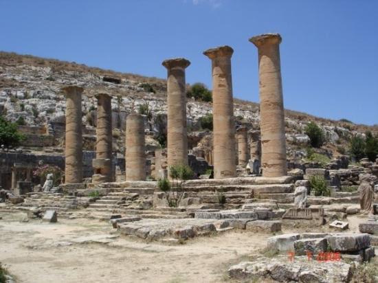 Greek ruins at Bayda, Libya