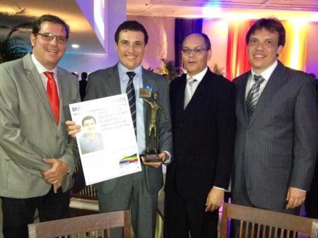 Esq. p/ Dir.: Sérgio Aroucha, Flávio Gadelha, Marcos José e Antônio Gadelha