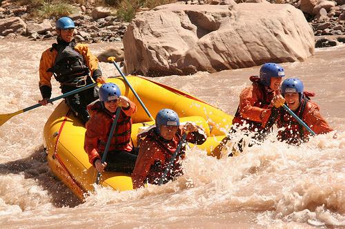 Argentina Rafting River Trip
