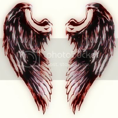 Best Tribal Tattoo Gallery Angel Wings Cross Tattoos