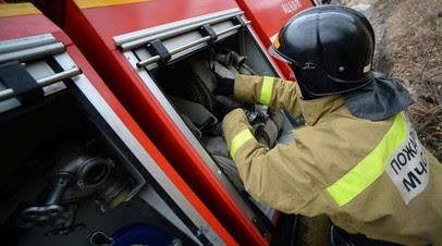 Пожар на автосервисе под Саратовом ликвидирован