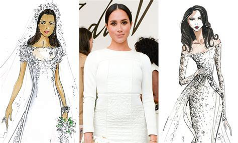 Meghan Markle wedding dress predictions: see here