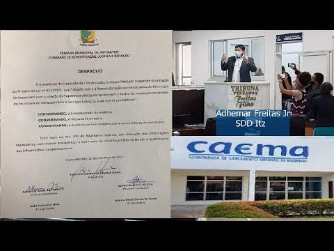 O destino da CAEMA em Imperatriz terá que ser decidido ouvindo o povo,  via audiência Pública