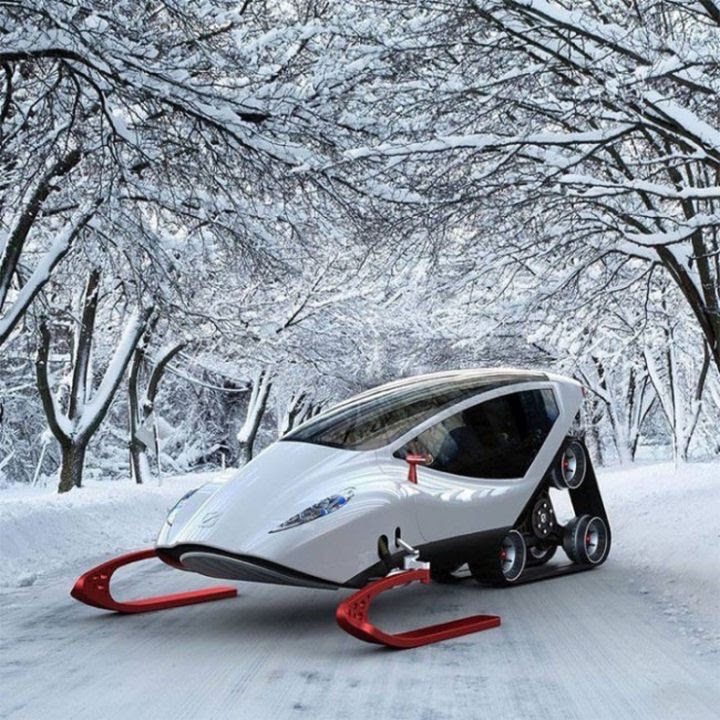11. Snow Crawler - the coolest snowmobile in the world in the world, people, photos
