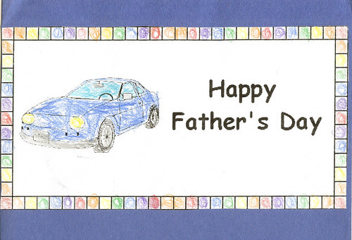 Adam Fathers Day card cover
