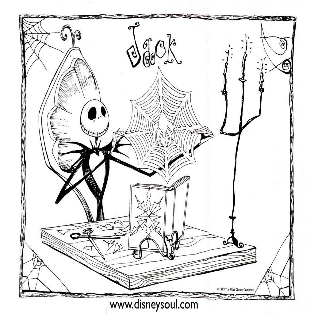 Disney Soul Dibujos Para Colorear De Pesadilla Antes De Navidad
