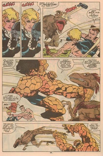 The Thing vs Raptors!