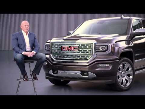 GMC exterior design, shows how designers crafted