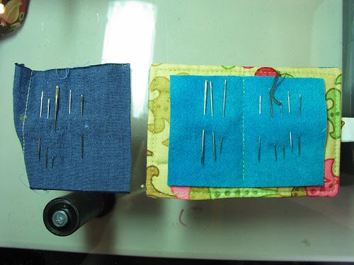 before & after needle book