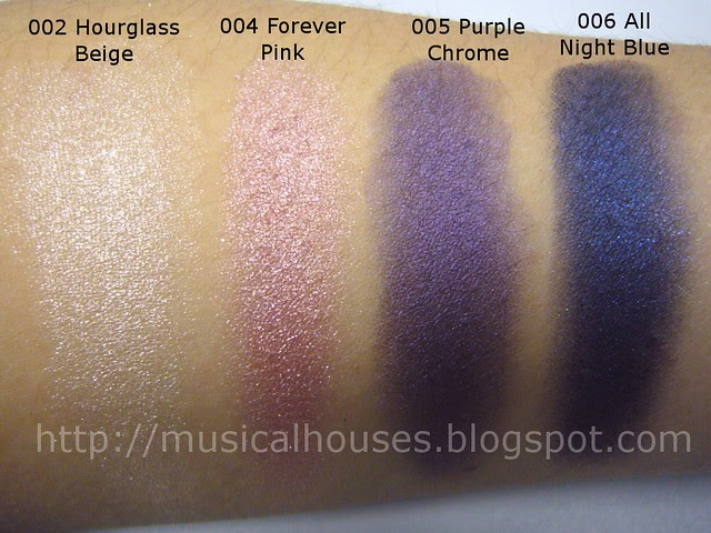 loreal infallible eyeshadow swatch 1