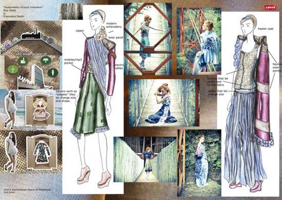 Eco Glam-coleção feminina